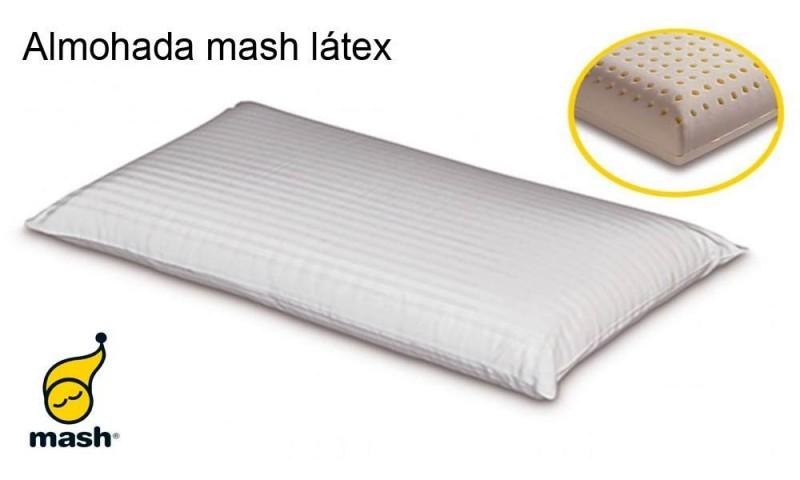 almohada látex mash
