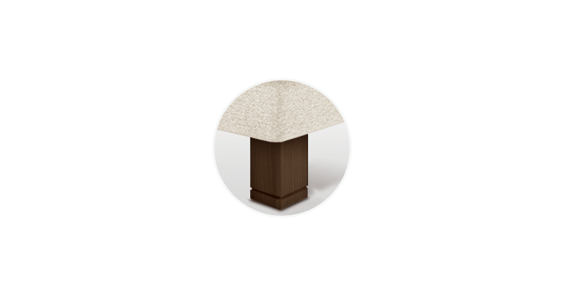 pata cuadrada chocolate sonpura