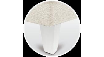 pata canape piramidal blanca