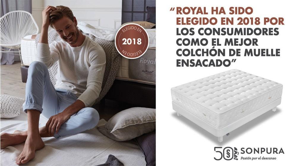 Colchon royal sonpura mejor colchon 2018 segun ocu